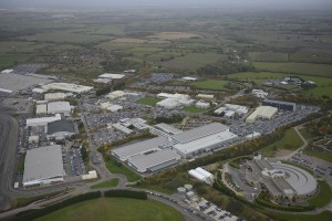 The 900-acre Jaguar Land Rover Gaydon Centre is one of the company's advanced engineering centres