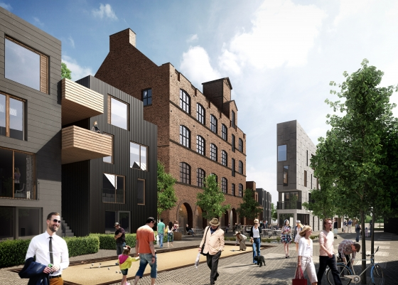 Little Kelham - A low carbon, sustainable property development in Kelham Island, Sheffield.