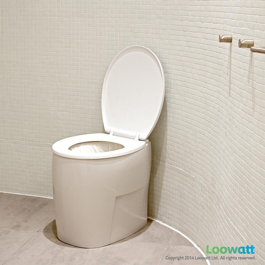 Loowatt Tsiky Toilet Square